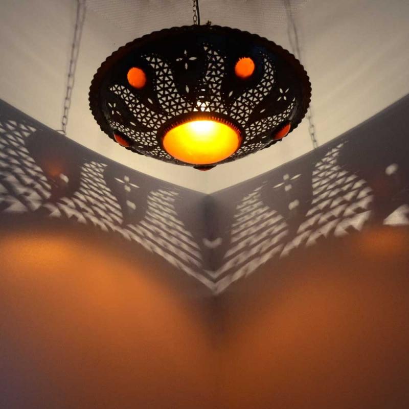 Orientalische marokkanische lampe orient leuchte arabische for Marokkanische messinglampen