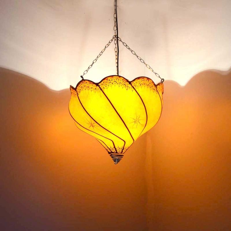 Orientalische lampe marokkanische hennalampe deckenleuchte for Marokkanische messinglampen