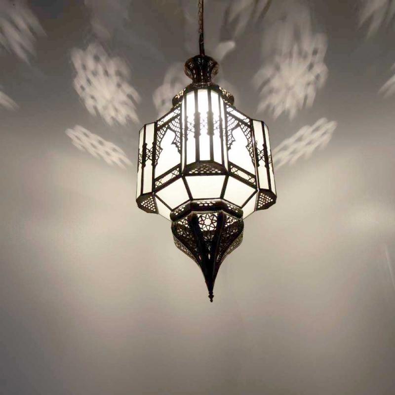 Orientalische h ngeleuchte marokkanische lampe orient for Marokkanische messinglampen