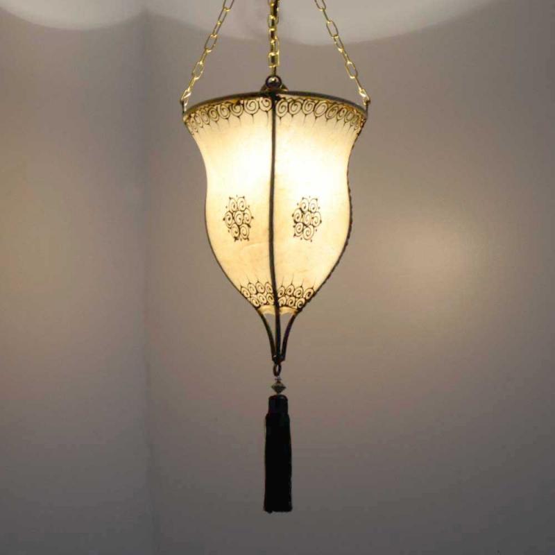 Marokkanische hennalampe orientalische leuchte deckenlampe for Marokkanische messinglampen