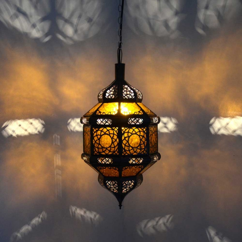 Orientalische lampe marokkanische h ngeleuchte orient for Marokkanische messinglampen
