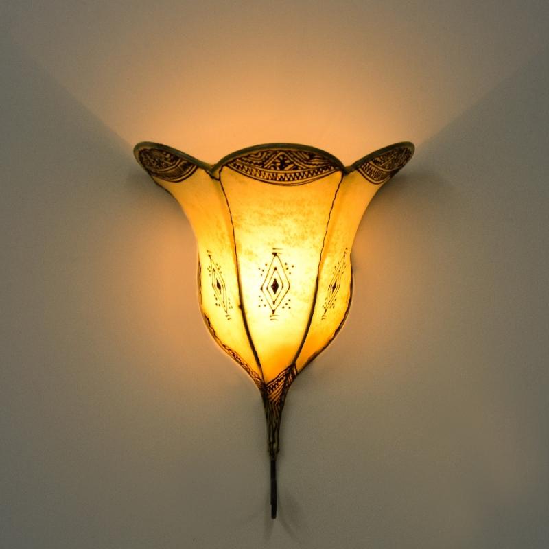 Marokkanische orientalische lampe wandlampe wandleuchter for Marokkanische messinglampen