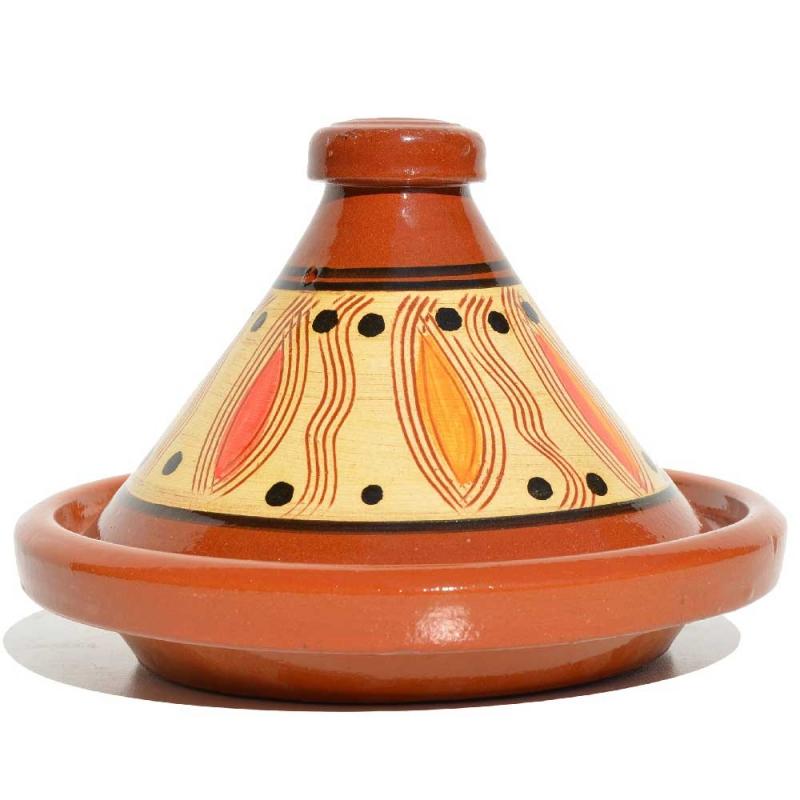 Marokkanische tajine keramik schmortopf khole for Marokkanische messinglampen