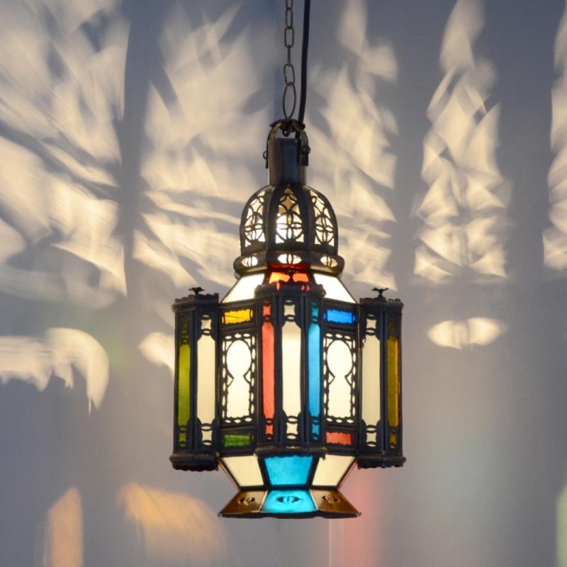 Orientalische Orient Hängeleuchte Marokkanische Lampe Leuchte Deckenleuchte GHTr