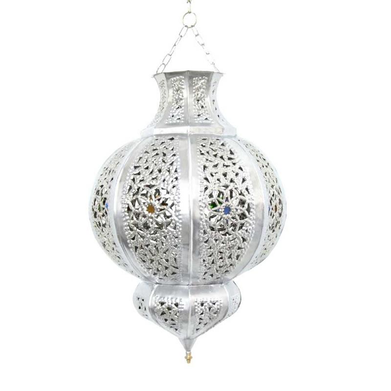 Orientalische marokkanische orient lampe h ngeleuchte for Marokkanische messinglampen