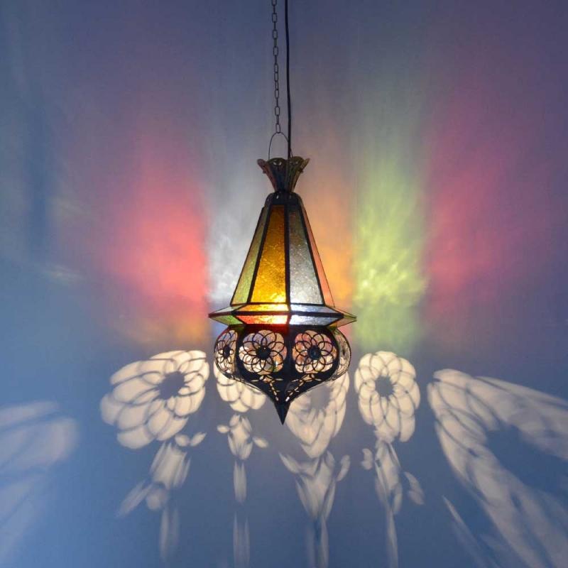 Orientalische lampe marokkanische deckenlampe orient for Marokkanische messinglampen