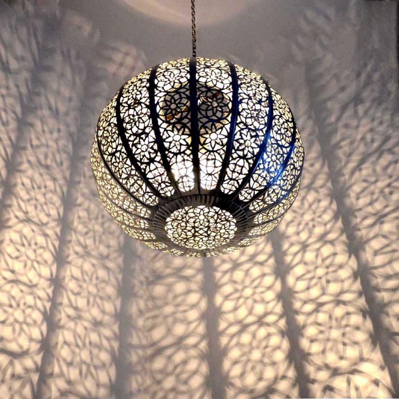 Orientalische lampe h ngeleuchte marokkanische orient for Marokkanische messinglampen