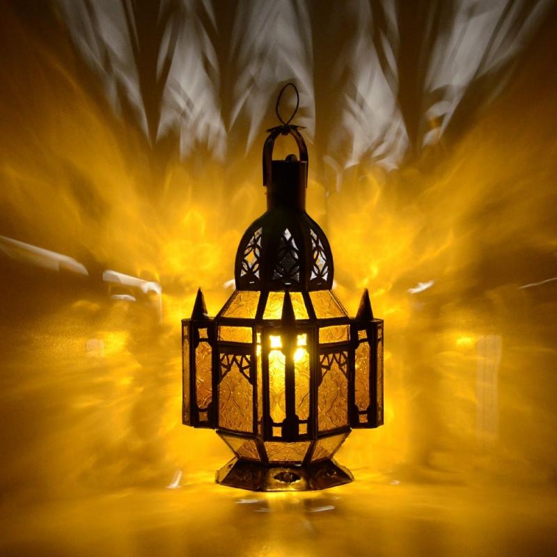 orientalische laterne marokkanische lampe orient arabische glaslaterne glmk a ebay. Black Bedroom Furniture Sets. Home Design Ideas
