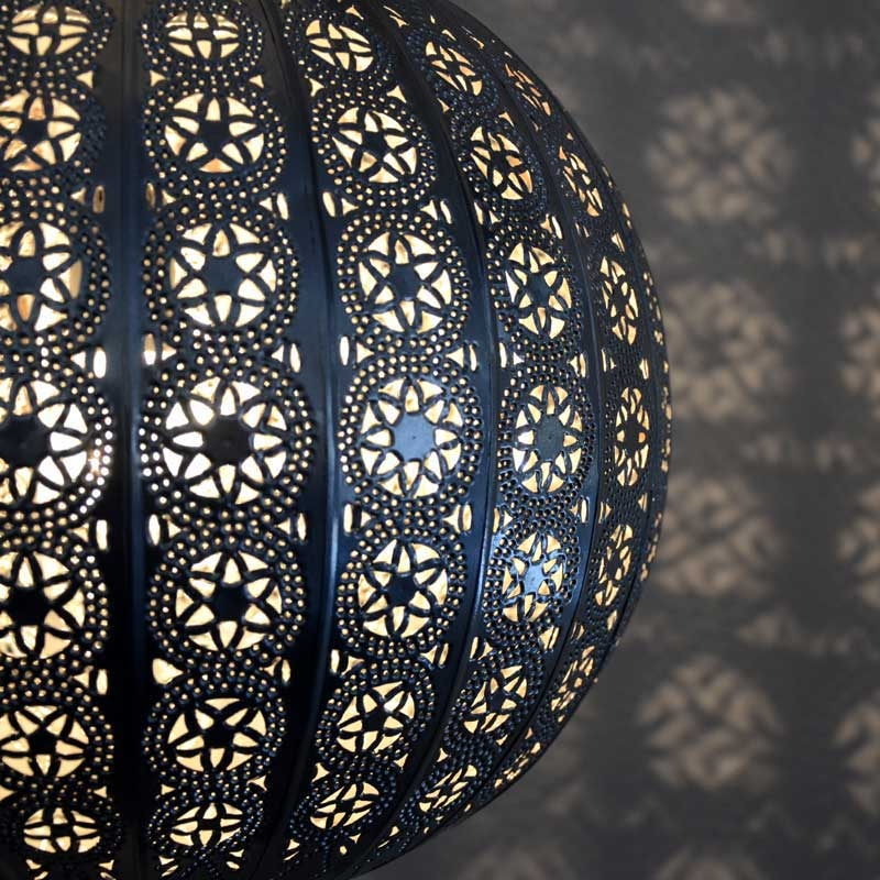 Orientalische h ngeleuchte marokkanische lampe orient for Orientalische wandlampen metall